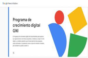 Programa de formación gratuito de Google busca un futuro mejor para el periodismo